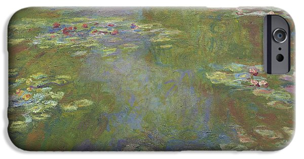 Water Lily Pond IPhone Case by Claude Monet