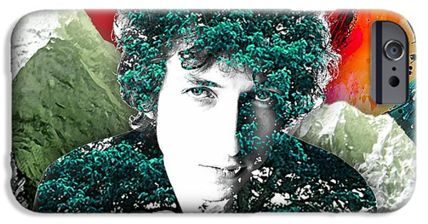Bob Dylan Collection IPhone 6s Case by Marvin Blaine