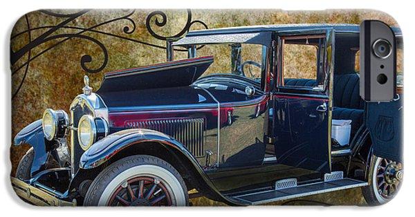 1924 Buick Duchess Antique Vintage Photograph Fine Art Prints 104 IPhone Case by M K  Miller