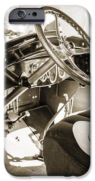1924 Buick Duchess Antique Vintage Photograph Fine Art Prints 114 IPhone Case by M K  Miller