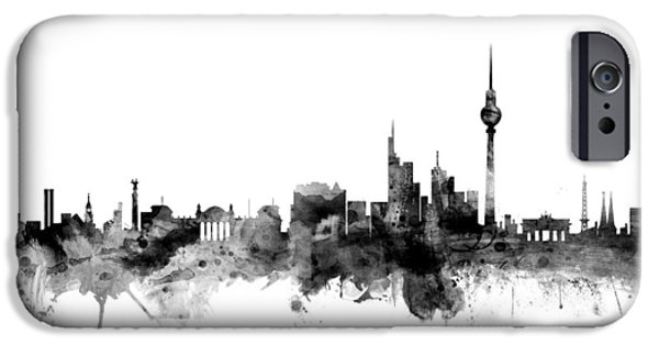 Berlin Germany Skyline IPhone 6s Case by Michael Tompsett