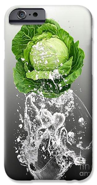 Cabbage Splash IPhone 6s Case by Marvin Blaine