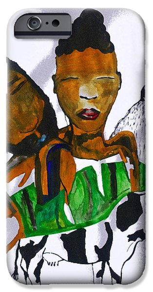 Kintu And Nambi Poster IPhone Case by Gloria Ssali