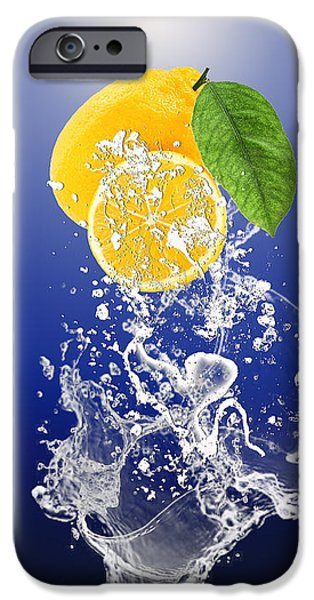 Lemon Splast IPhone 6s Case by Marvin Blaine