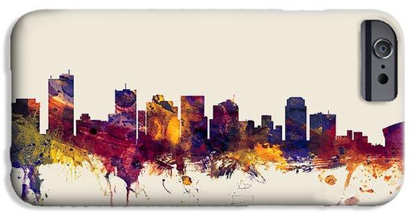 Phoenix Arizona Skyline IPhone 6s Case by Michael Tompsett