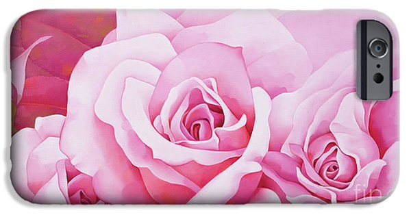 The Rose  IPhone 6s Case by Myung-Bo Sim