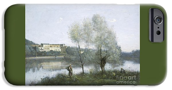 Ville D'avray IPhone Case by Jean Baptiste Camille Corot
