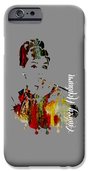 Audrey Hepburn Collection IPhone 6s Case by Marvin Blaine