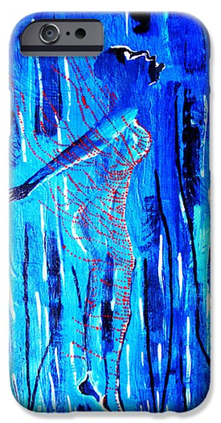 Dinka Dance - South Sudan IPhone Case by Gloria Ssali