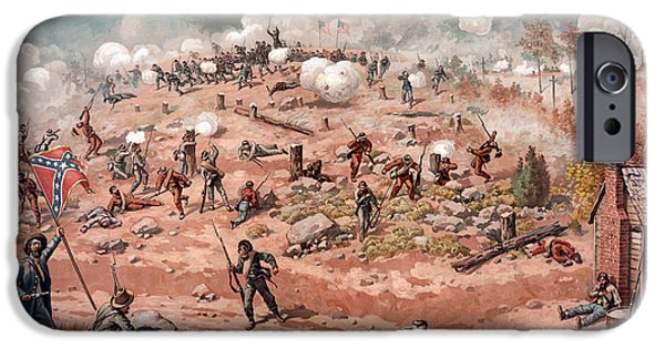 American Civil War, Battle IPhone Case by Science Source