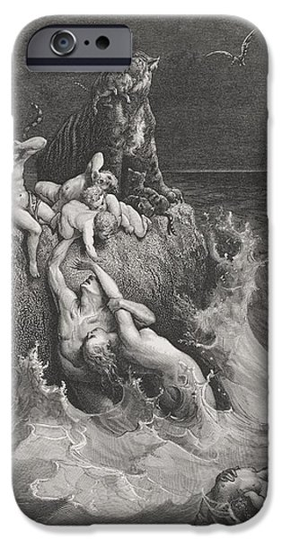 Engraving From The Dore Bible IPhone 6s Case by Vintage Design Pics