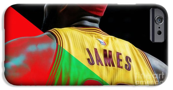 Lebron James Collection IPhone 6s Case by Marvin Blaine