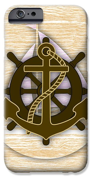 Nautical Collection IPhone 6s Case by Marvin Blaine
