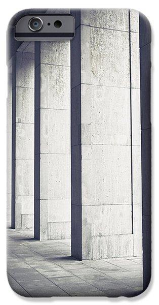 Pillars IPhone Case by Tom Gowanlock