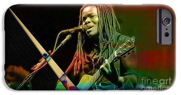 Tracy Chapman Collection IPhone Case by Marvin Blaine
