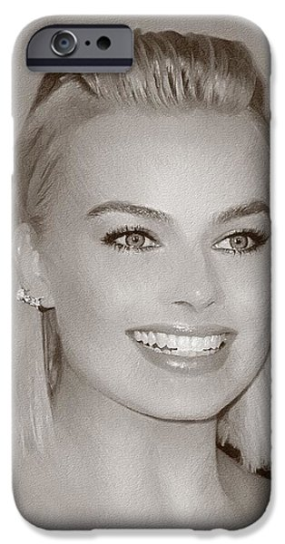 Hollywood Star Margot Robbie IPhone 6s Case by Best Actors
