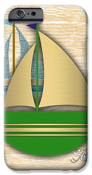 Sailing Collection IPhone 6s Case by Marvin Blaine