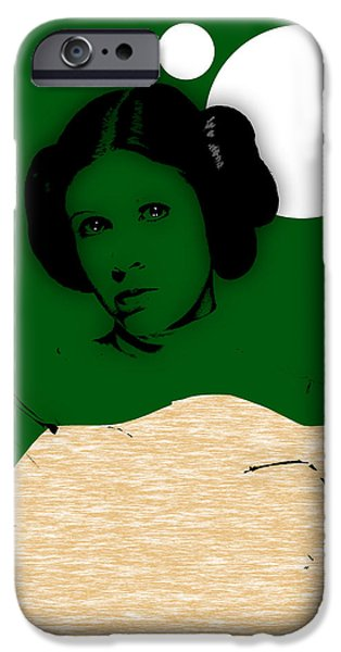 Star Wars Princess Leia Collection IPhone Case by Marvin Blaine