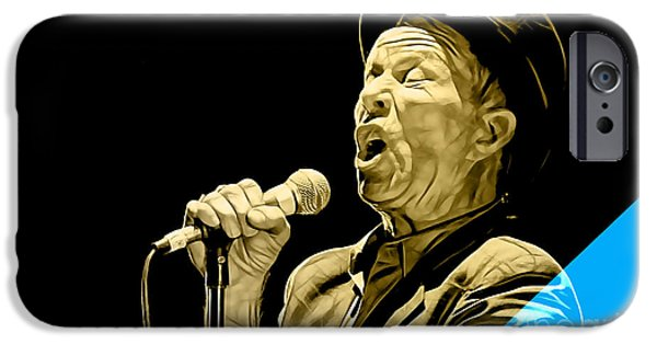 Tom Waits Collection IPhone 6s Case by Marvin Blaine