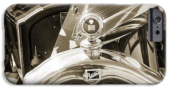 1924 Buick Duchess Antique Vintage Photograph Fine Art Prints 108 IPhone Case by M K  Miller