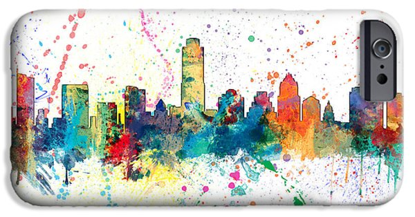 Austin Texas Skyline IPhone 6s Case by Michael Tompsett