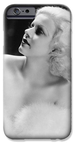 Jean Harlow (1911-1937) IPhone Case by Granger