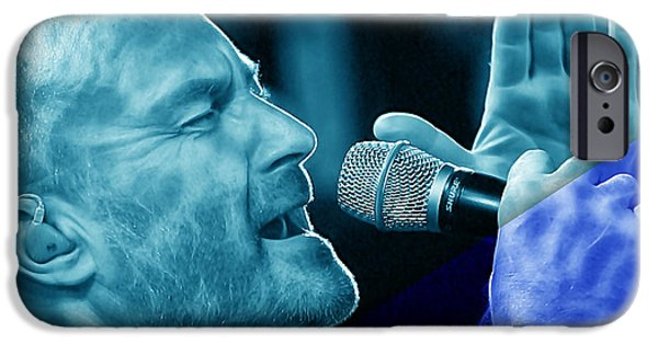 Phil Collins Collection IPhone 6s Case by Marvin Blaine