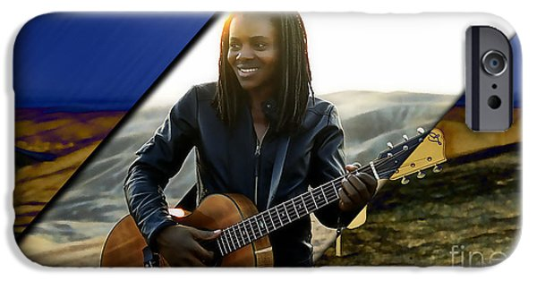 Tracy Chapman Collection IPhone 6s Case by Marvin Blaine