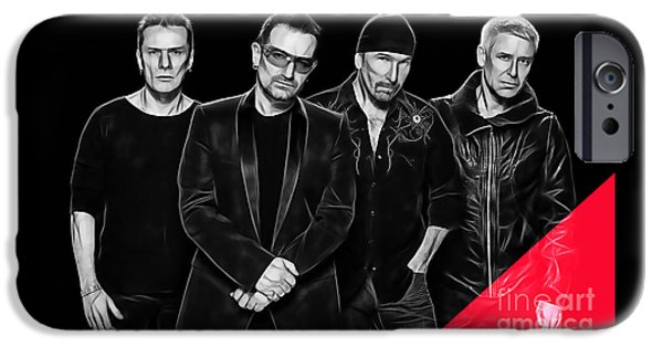 U2 Collection IPhone 6s Case by Marvin Blaine
