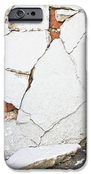 A Broken Wall  IPhone Case by Tom Gowanlock