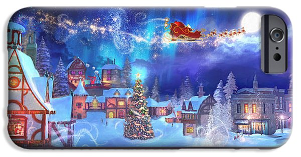 A Christmas Wish IPhone Case by Joel Payne