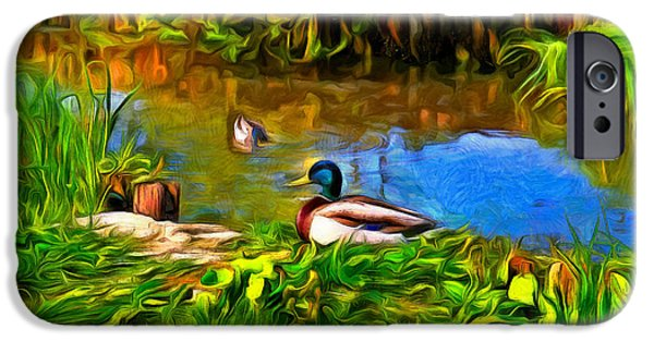 A Day At Lake - Pa IPhone Case by Leonardo Digenio