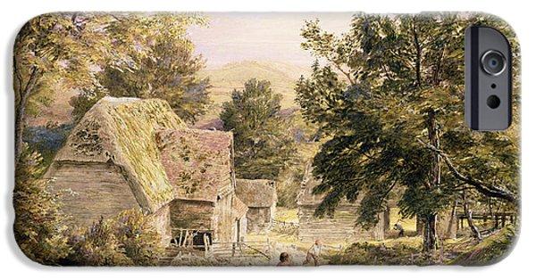 A Farmyard Near Princes Risborough IPhone Case by Samuel Palmer
