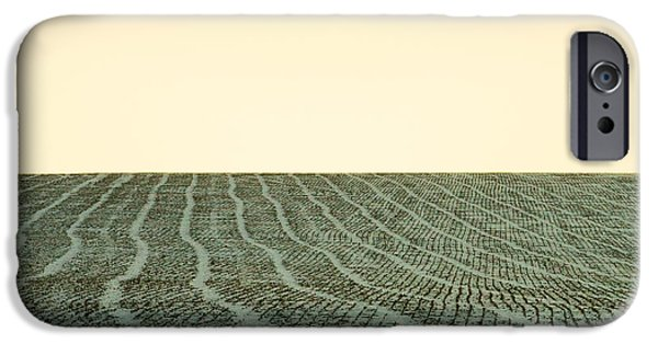 A Field Stitched IPhone Case by Todd Klassy