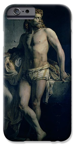 A Gaul And His Daughter Imprisoned In Rome IPhone 6s Case by Felix-Joseph Barrias