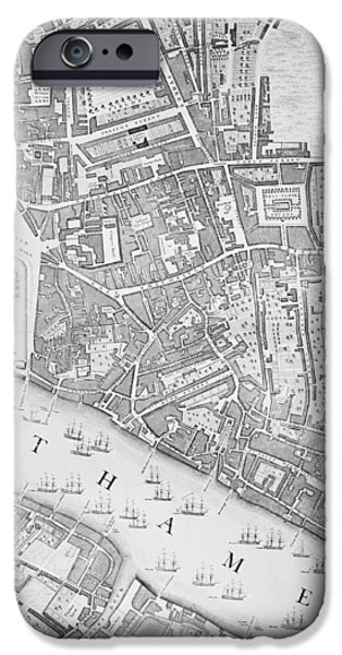 A Map Of The Tower Of London IPhone 6s Case by John Rocque