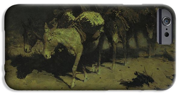 A Pack Train IPhone 6s Case by Frederic Remington