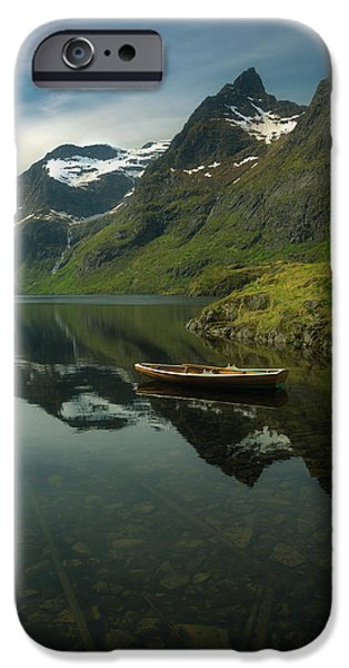 A Piece Of Peace IPhone Case by Tor-Ivar Naess