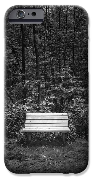A Place To Sit IPhone Case by Scott Norris