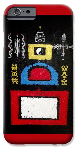 A Plea For Religious Tolerance IPhone Case by Sela Adjei