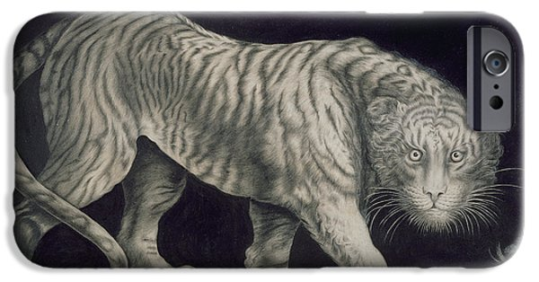 A Prowling Tiger IPhone 6s Case by Elizabeth Pringle