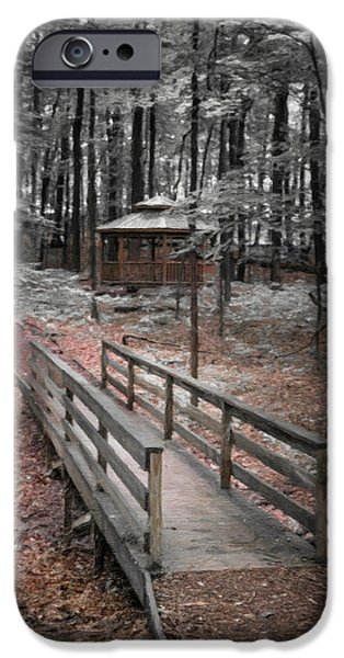 A Quiet Place IPhone Case by Tom Mc Nemar