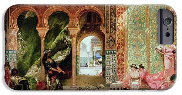 A Royal Palace In Morocco IPhone 6s Case by Benjamin Jean Joseph Constant