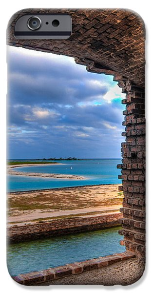 A View From Fort Jefferson - 2 IPhone Case by Andres Leon