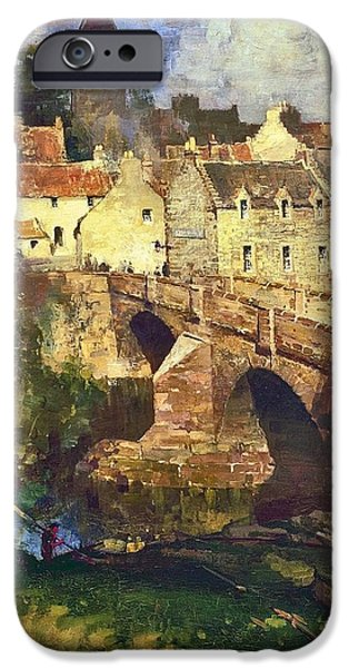 A Village In East Linton IPhone Case by James Paterson