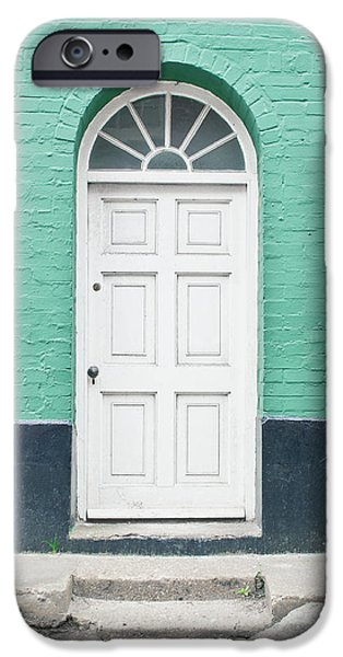 A White Door IPhone Case by Tom Gowanlock