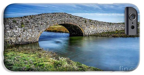 Aberffraw Bridge IPhone Case by Adrian Evans