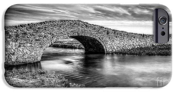 Aberffraw Bridge V2 IPhone Case by Adrian Evans