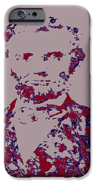 Abraham Lincoln 4c IPhone 6s Case by Brian Reaves