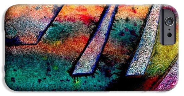 Abstract 32 IPhone Case by John  Nolan